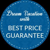 Button dream vacation mit best price guarantee