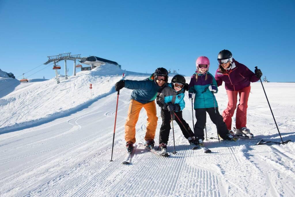 Flachau ist ein Skigebiet für Familien