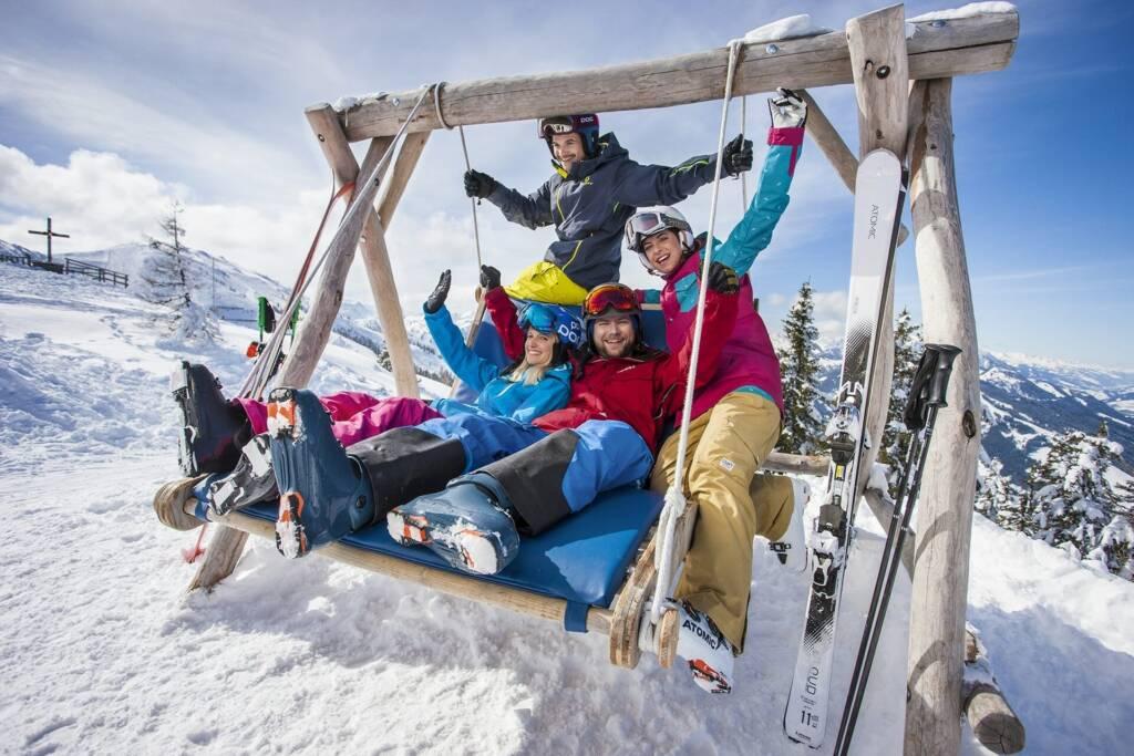 Lustiger Skiurlaub im Schlosshotel Lacknerhof