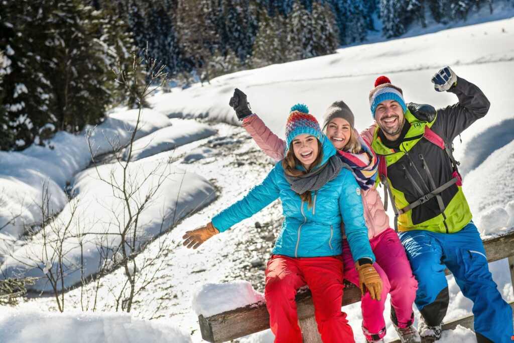 Spaß beim Winterwandern in Flachau