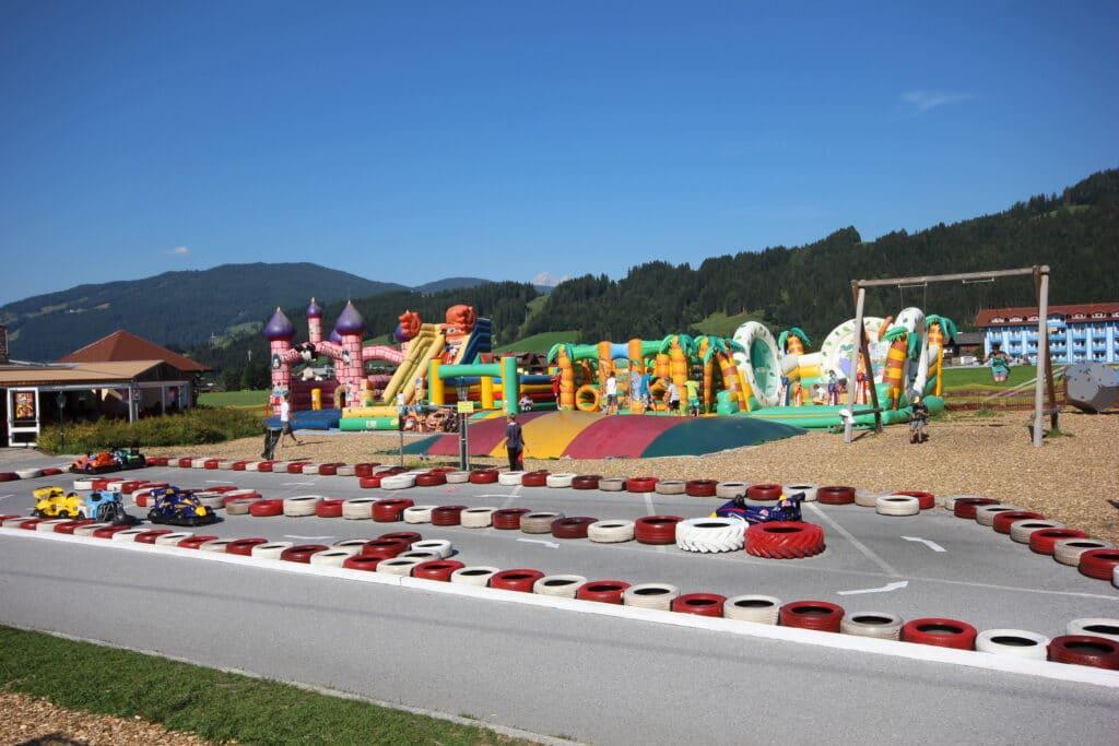 Luckys Freizeitpark vom Hotel Lacknerhof in Flachau