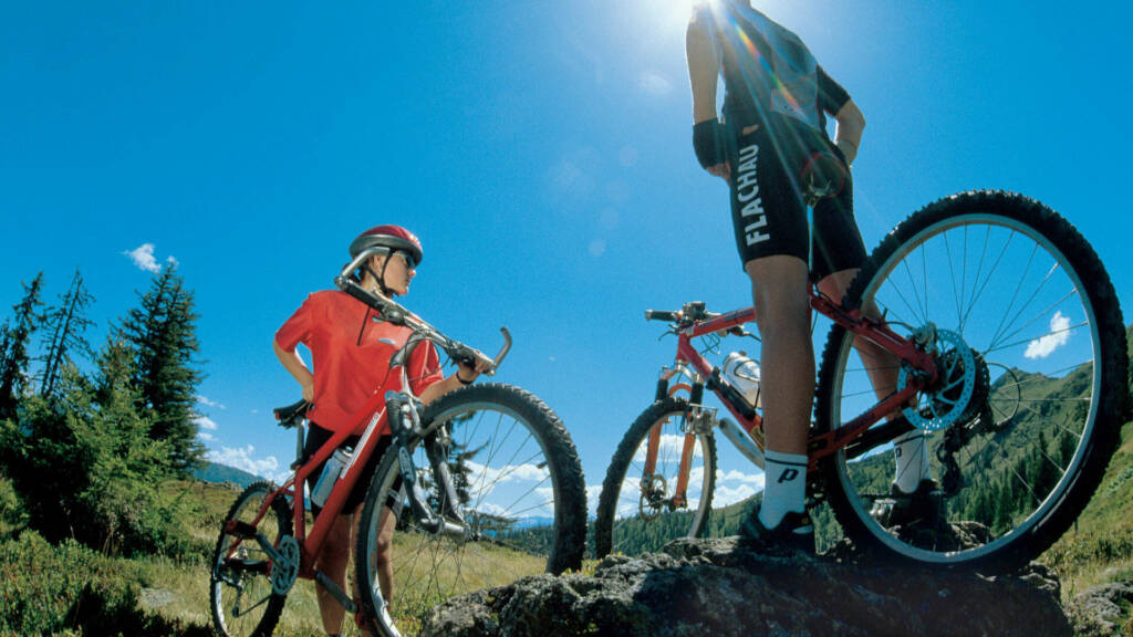 The mountains are calling – dream vacation with the bike