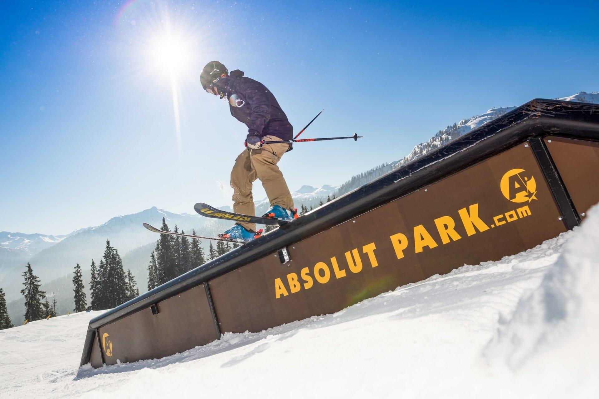 Absolut Park im Skigebiet Flachau