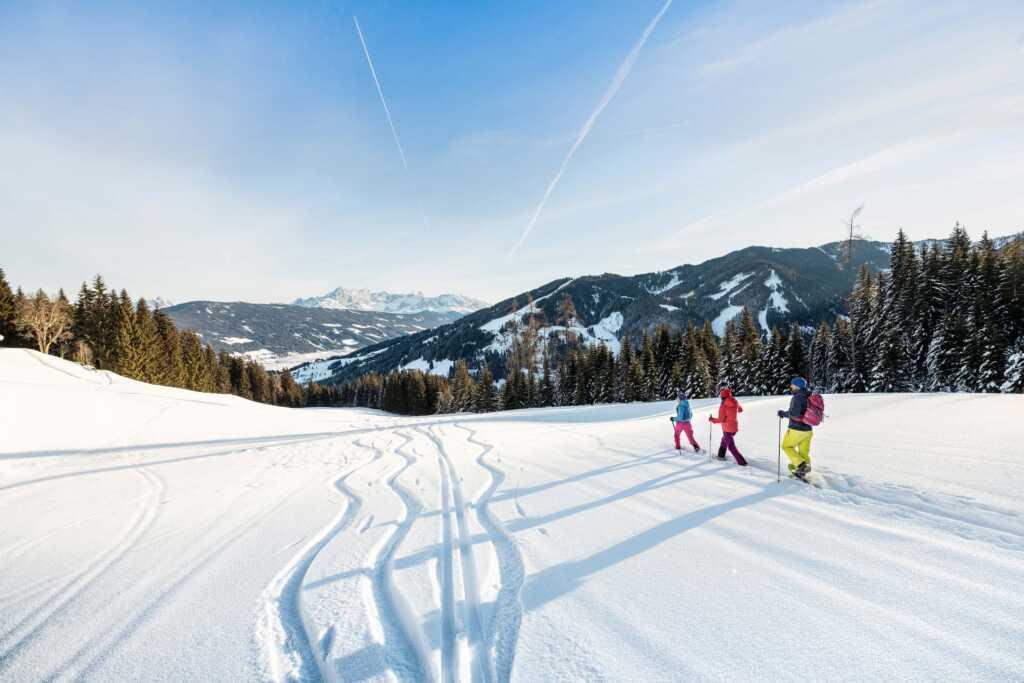 Schneeschuhwandern in Flachau