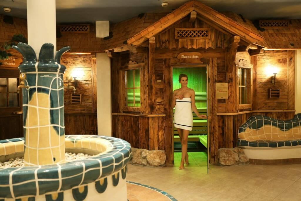 Wunderbares Saunarium im Schlosshotel